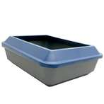 CAT LITTER PAN WITH RIM (LARGE) (TWILIGHT BLUE) 50963