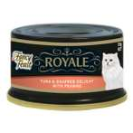 ROYALE TUNA & SNAPPER DELIGHT WITH PRAWNS 85g 12029931