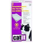 KITTY CORNER CAT PAN LINER 7Bags (MEDIUM) 50542