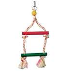 JUNGLEWOOD 2-STEP ROPE LADDER WITH HANGING 81101