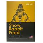 SHOW RABBIT FEED 600g BY-0001