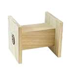 BITING WOOD STAND FOR RABBIT - LARGE MR266