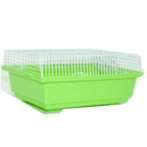 CARRY CAGE WITH BOTTLE  & DISH BW738
