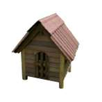 DOG HOUSE 223 - SMALL DOGHOUSE-SS