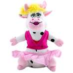 LUVZ TOY CHEERLEADER COW WITH SQUEAKER 72785