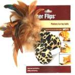 FLUTTERY FUN TOY BALLS - FEATHER FLIPS WW049341