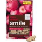 NATURAL BISCUIT SMILE WITH ORGANIC APPLE + MILK PROTEIN 340g IOD74612