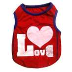 TANK TOP WITH LOVE (RED) (SMALL) SS0TK001LRDS