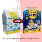 WEE PADS (MEDIUM) (50pcs) BW/PBT2-4560