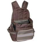 BACKPACK CARRIER WITH STRIPE (BROWN / GREY) ASD012078-08