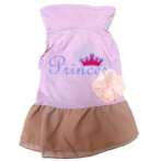 DRESS PRINCEES WITH FLOWER (PURPLE) (LARGE) SS0DR012PL