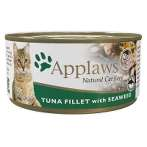 (CAT) TIN TUNA FILLET WITH SEAWEED 70g MPM01009