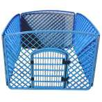 PLASTIC PLAYPEN (4 PANELS) (BLUE) JNP161BL