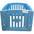 PLASTIC PLAYPEN (4 PANELS) (BLUE) JNP229