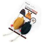 CATNIP MOUSE (GREY / BROWN) (2 pcs) BW/AT2406