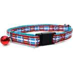 CAT COLLAR (BLUE / RED) BW/NCN10SD