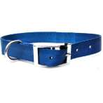 DOG COLLAR (SOLID) (LIGHT NAVY) BW/NYCR25PABL