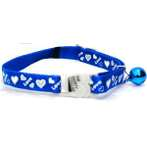 CAT COLLAR WITH LOVE (BLUE) BW/SCCLOVEBL