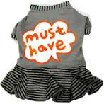 DRESS - MUST HAVE (GREY) (LARGE) DDY0D291L