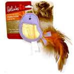 HUSKY CRITTER - CATNIP BIRD WITH FEATHER WW049655