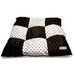 PET BED - POKA DOT (BROWN) (LARGE) YF87087BNL