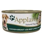 (DOG) TIN CHICKEN BREAST WITH BEEF LIVER & VEGETABLE 156g MPM03006