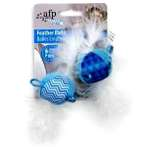 MODERN CAT FEATHER BALLS WITH SOUND (2pcs) VP7810