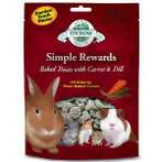 SIMPLE REWARDS BAKED TREATS WITH CARROT & DILL 60g OB-BTCD
