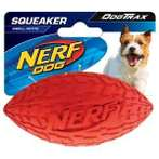TIRE SQUEAK FOOTBALL 4❞ (RED / GREEN) (SMALL) VP6817