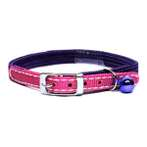 ELASTIC CAT COLLAR WITH BELL (PURPLE) BW/NCE10MDPU