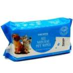 ALL NATURAL PET WIPES (100pcs) KPP0TR3930