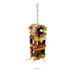 WOODEN BIRD TOY-TOWER BT05550