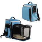 EXPANDABLE BACKPACK CARRIER (BLUE) (MEDIUM)