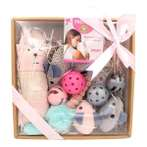 CAT TOY GIFT SET (GREY/ PINK) 10pcs YG104725